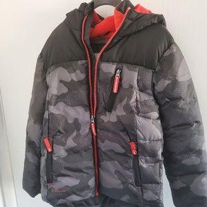 Boys winter puffy jacket